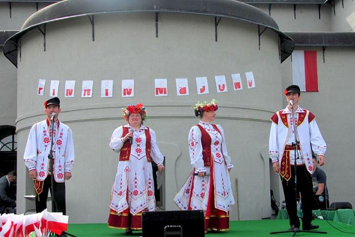 Брестчане побывали на празднике Конституции 3 мая в Тересполе